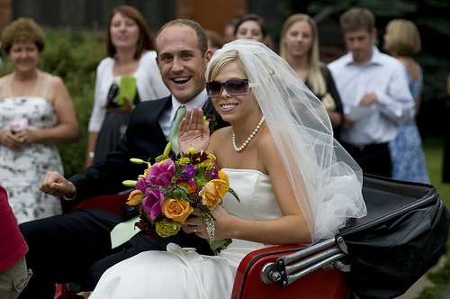 Rickshaw wedding